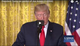 President Trump on Pardon of Joe Arpaio