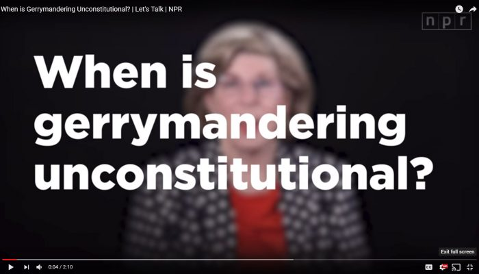 When is Gerrymandering Unconstitutional?