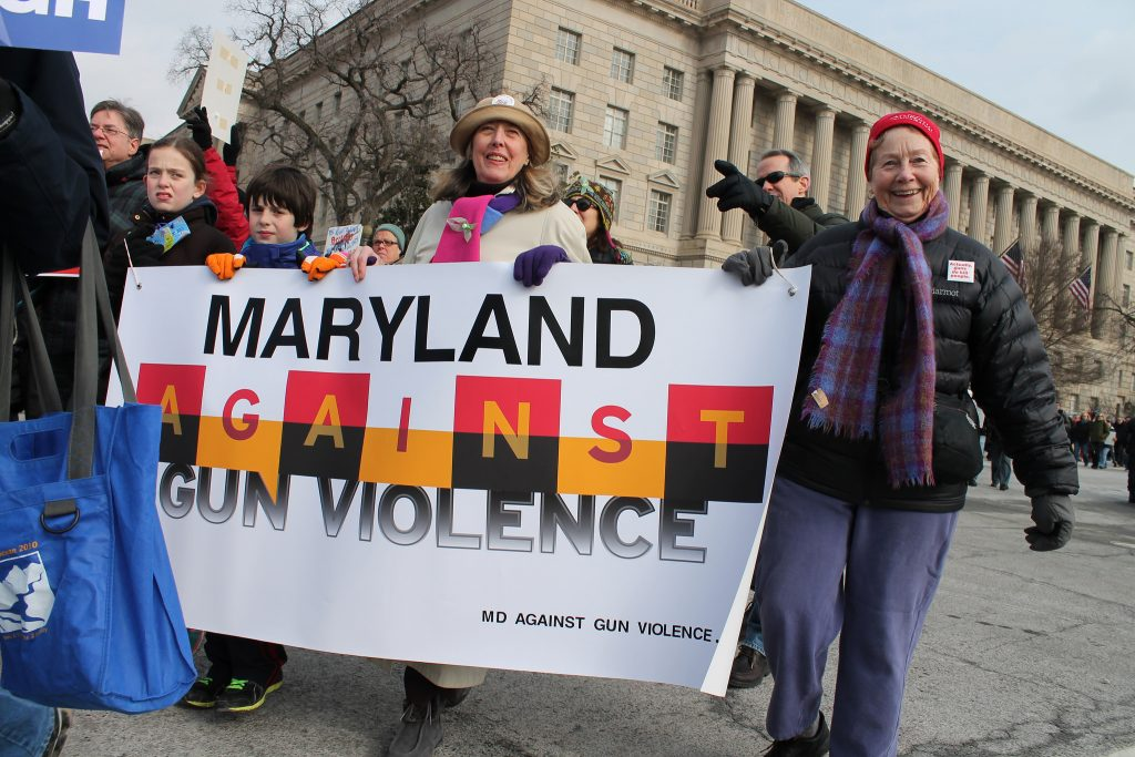 Maryland Gun Violence Rally