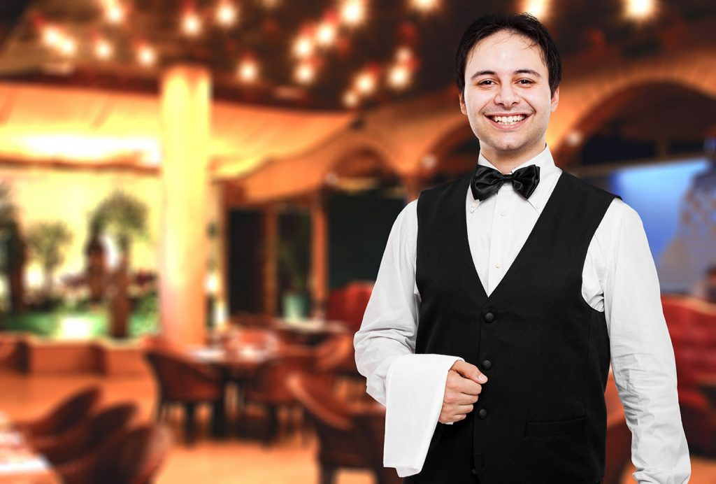 Young Waiter