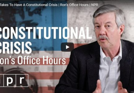 What It Takes To Have A Constitutional Crisis