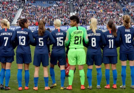 US Soccer Sued By The Entire US Womens National Team For Equal Pay