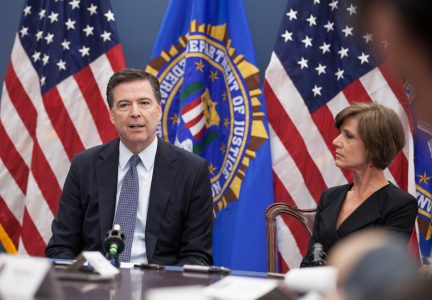 FBI Director James Comey and Deputy Attorney General Sally Yates