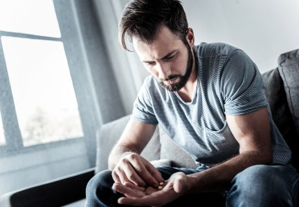 Man Suffering Through Opioid Crisis Contemplates Taking More Pills