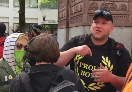 Arrests Ensue At Fascist Proud Boys Rally In Portland